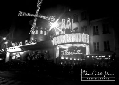 The Moulin Rouge, Paris, France, Europe - by Diann Corbett Johnson
