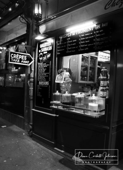 Crepe Shop, Paris