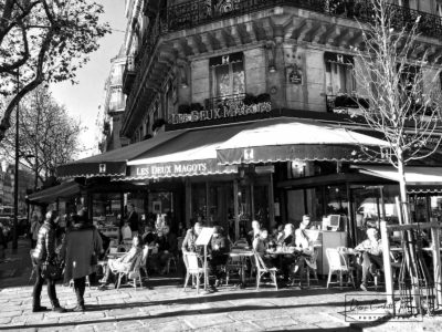 Hemingway's Old Hangout in Paris