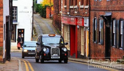 Taxi in Chester, UK